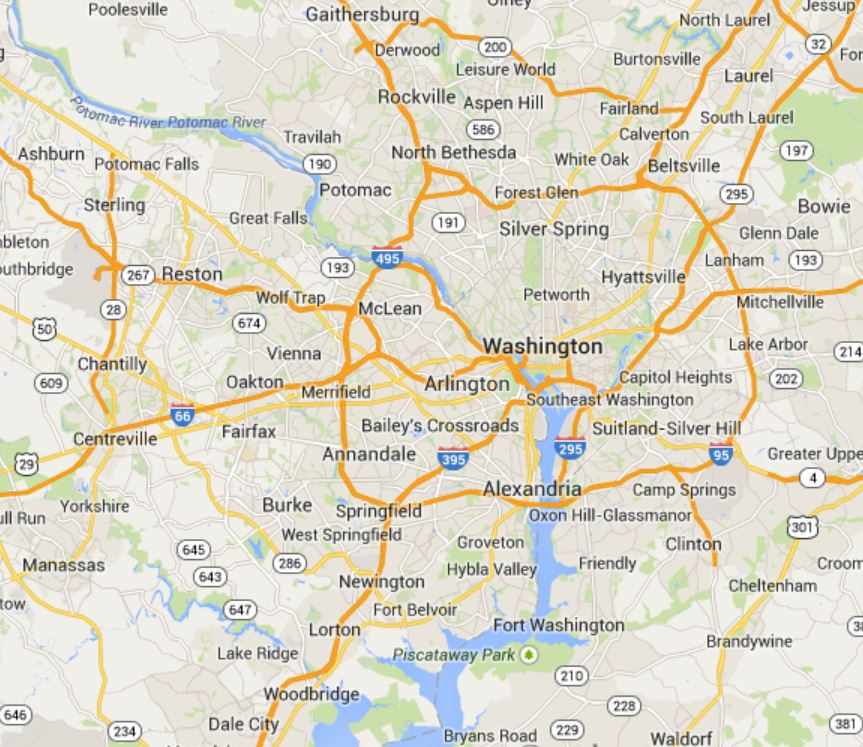 Map Of Towns In Dc Area Pictures to Pin on Pinterest PinsDaddy